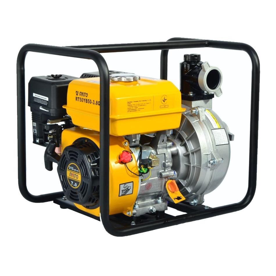Мотопомпа высокого давления Rato RT50YB50-3.8Q (R210)