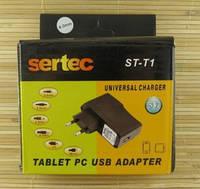 Зарядний пристрій мережевий для планшета miniUSB 5V ST-T1 2A