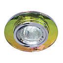 Встраиваемый  светильник Feron 8050 MR16   5-мультиколор (цвет корпуса серебро), фото 7
