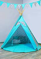 Комплект с вигвамом детский игровой «Звёзды с мятой», фото 1