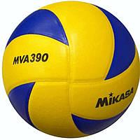 Мяч волейбольный MIKASA MVA390 оригинал, фото 1