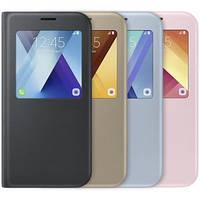 Чехол-книжка для Samsung A720F Galaxy A7 (2017) S View Standing Cover Оригинал EF-CA720PBEGRU Black (EF-CA720PBEGRU)