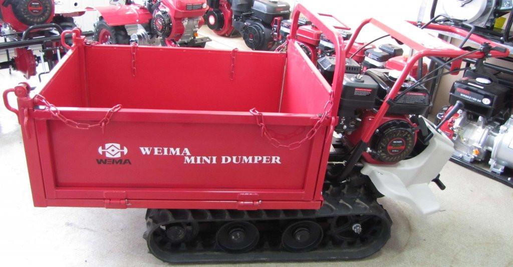 Самоходная гусеничная тележка мини думпер WEIMA WM7B-320A (MINI DUMPER)
