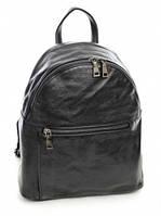 Рюкзак кожаный женский NO-T9011 Black