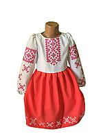 """Вишите плаття для дівчинки """"Ніка"""" (Вышитое платье для девочки """"Ника"""") DT-0035"""