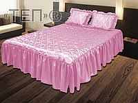 Покрывало ТЕП «Glamour» розовый
