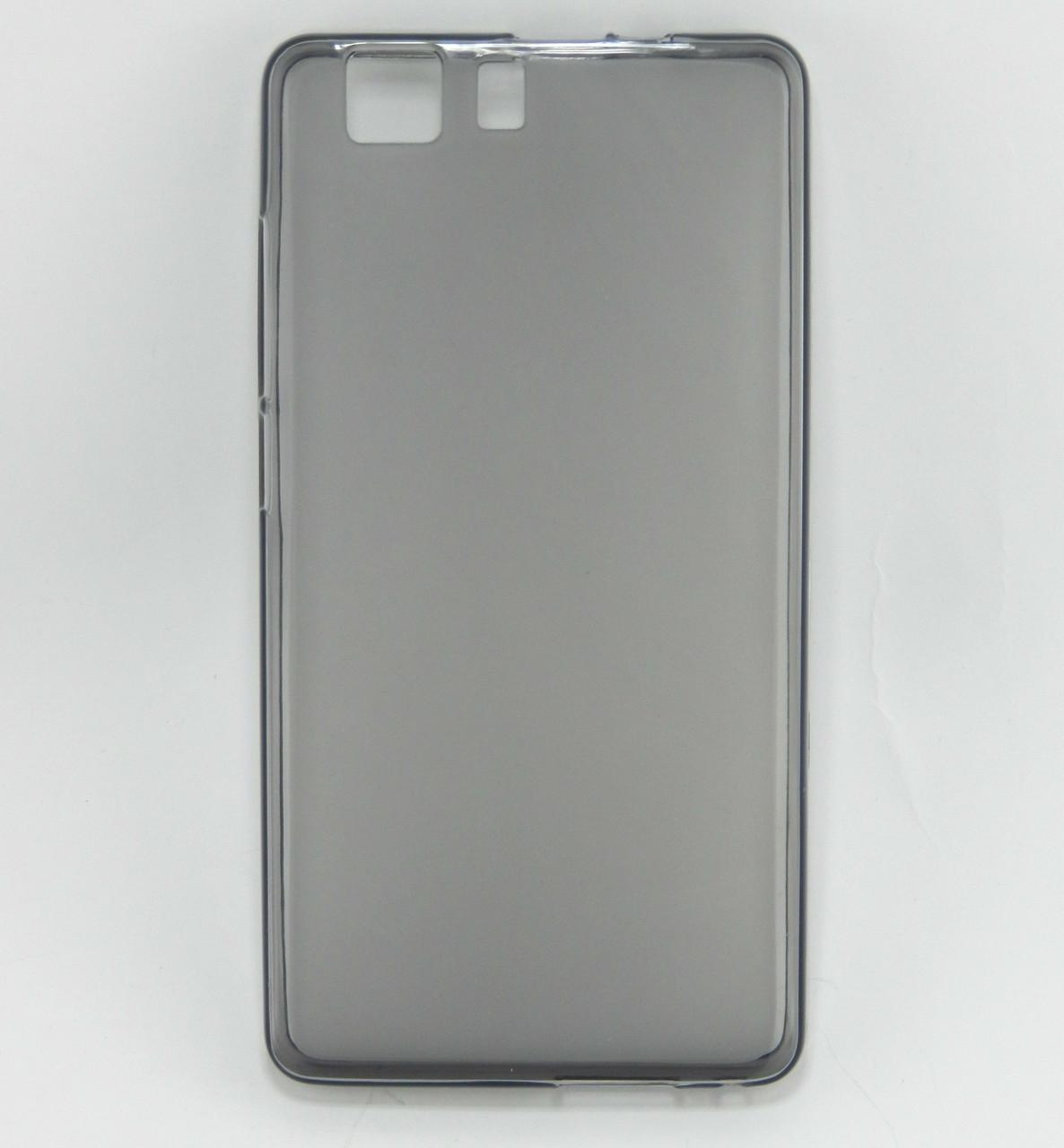 Чехол накладка для Doogee X5 / X5 Pro силиконовый матовый, Темно-серый