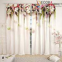 Фотошторы цветочная арка