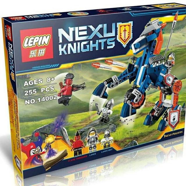 Конструктор Nexo Knights (Нексо найтс) 14002 Ланс и его механический к