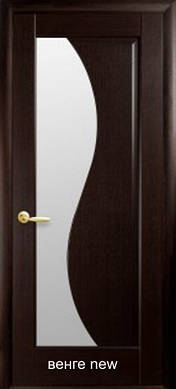 """Дверное полотноЭскада стекло сатинпвх """"De Luxe"""""""