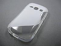 Полимерный TPU чехол Samsung Galaxy Fame S6810, фото 1
