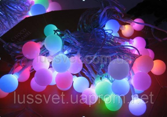 Гирлянда внутренняя DELUX  WHITE BALL  10080846