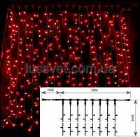 Гирлянда внешняя DELUX CURTAIN 2х3 10008259 красный, фото 1