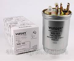 Паливний фільтр VW Transporter T4 1.9D / 1.9TD / 2.4D / 2.5TDI 90-03 WB-103 WUNDER