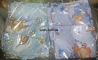 Комплект сменного постельного белья 3 в 1 бязь