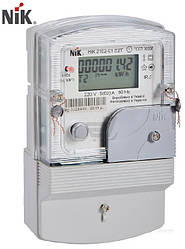 Счетчик электроэнергии однофазный многотарифный электронный НИК 2102-01.Е2Т, Одесса