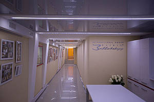 Подземный коридор в «Клиника Заблоцкого»