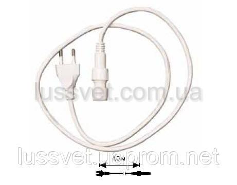 Шнур/вилка DELUX для светящ.провода RBRLx2 10008184
