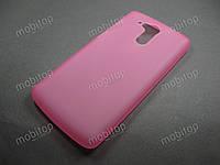Полимерный TPU чехол Acer Liquid E700 (розовый)