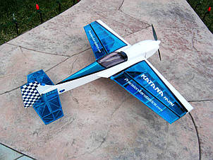 Самолёт р/у Precision Aerobatics Katana Mini 1020мм ARF (синий)