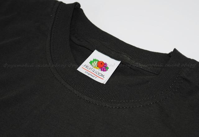 Светлый графит мужская лёгкая футболка