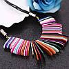 Колье ожерелье подвеска радуга бижутерия аксессуары, фото 2