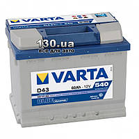 Автомобильный аккумулятор Varta Blue Dynamic 6СТ-60АЗ 560127 60 Ач «+» слева