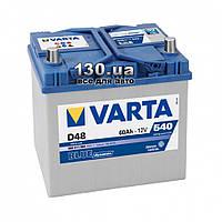 Автомобильный аккумулятор Varta Blue Dynamic 6СТ-60АЗ Е 560410 60 Ач «+» справа для азиатских автомобилей