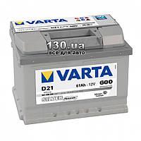Автомобильный аккумулятор Varta Silver Dynamic 6СТ-61АЗ Е 561400 61 Ач «+» справа