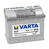 Автомобильный аккумулятор Varta Silver Dynamic 6СТ-63АЗ Е 563400 63 Ач «+» справа
