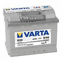 Автомобильный аккумулятор Varta Silver Dynamic 6СТ-63АЗ 563401 63 Ач «+» слева