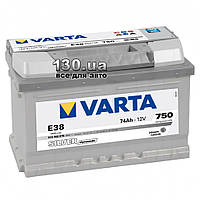 Автомобильный аккумулятор Varta Silver Dynamic 6СТ-74АЗ Е 574402 74 Ач «+» справа