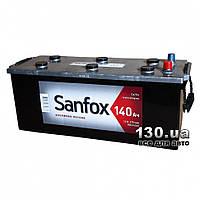 Автомобильный аккумулятор Sanfox 6CT-140АЗ 140 Ач «+» слева