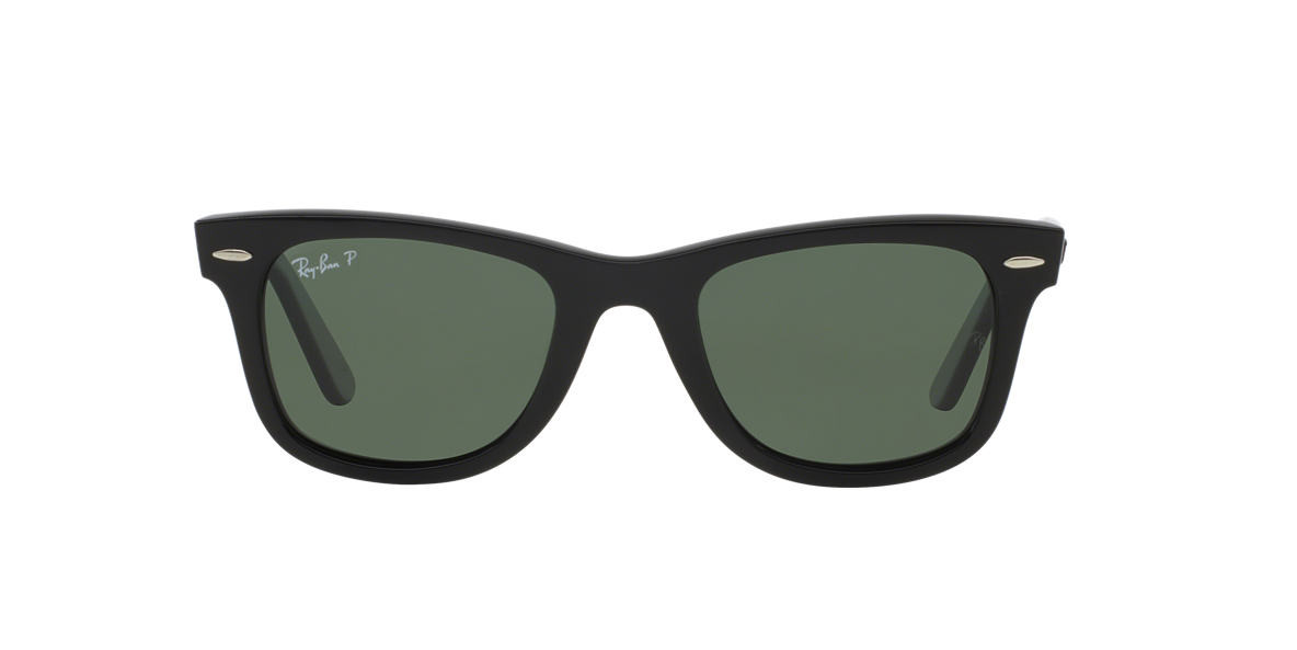 Солнцезащитные очки Ray-Ban ORIGINAL WAYFARER BLACK / GREEN RB2140 50
