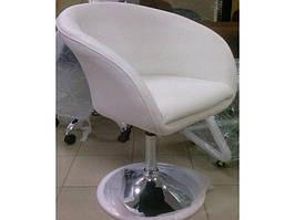 Кресло парикмахерское Murat White