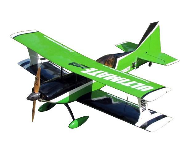 Самолёт р/у Precision Aerobatics Ultimate AMR 1014мм ARF (зеленый)