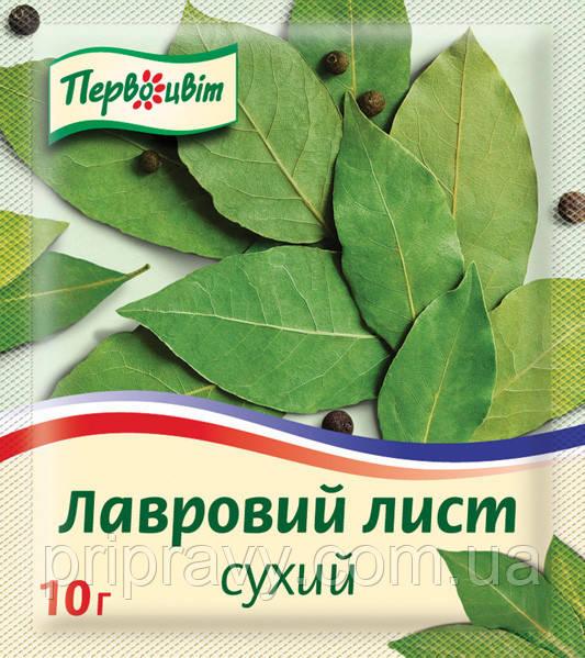 Лавровый лист сухой ТМ Первоцвіт, 10г.