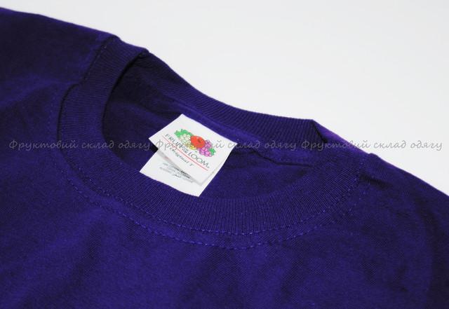 Фиолетовая мужская лёгкая футболка