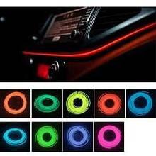 Подсветка панели, обшивки автомобиля - холодный неон 2-го поколения 2,3 мм с КАНТОМ