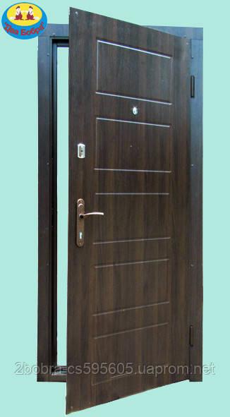 Двери Входные с Накладкой  MDF- MDF (2 замка)  86 см. 96 см. Левая / Правая