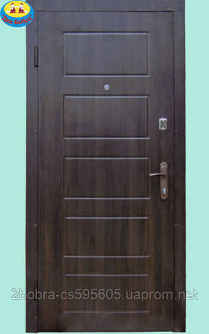 Двери Входные с Накладкой  MDF- MDF (2 замка)  86 см. 96 см. Левая / Правая, фото 2