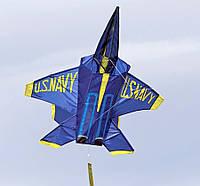 Воздушный змей WindnSun синий ангел 1020 х 910 мм (71251)
