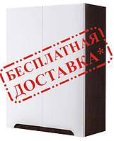 Шкаф для ванной навесной Симпл венге 60-02