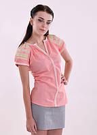 """Вышитая женская блуза """"Звездочка""""  цвета в ассортименте"""