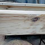 Балка из дерева  обожженая , под старину., фото 2