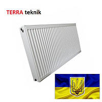 Стальной радиатор Terra Teknik 500x400 боковое подключение, 22 тип