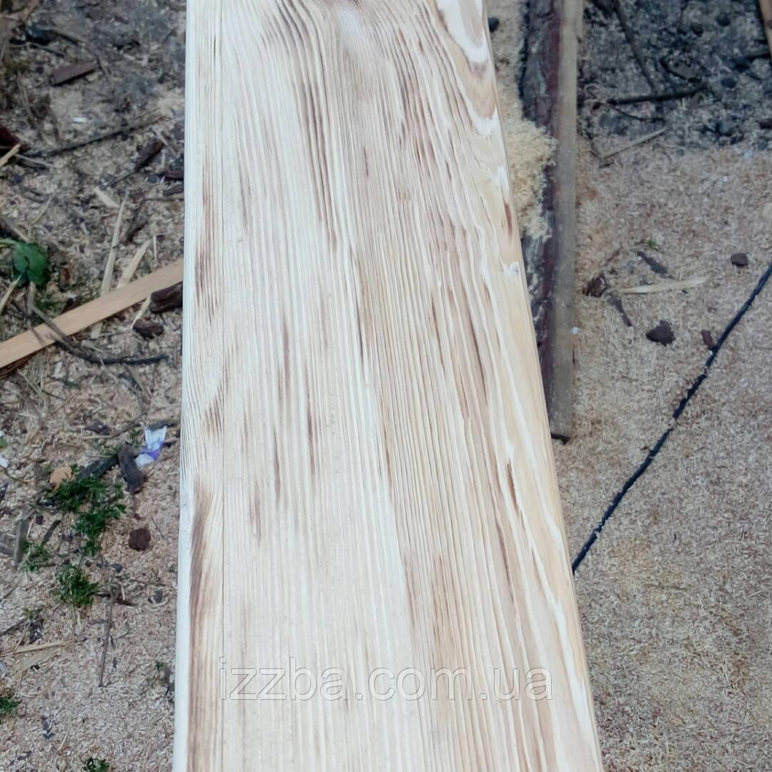 Балка из дерева  обожженая , под старину.