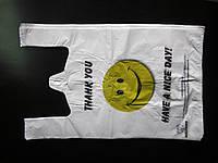 Пакет Майка 29*46 (100шт/уп) 16мкр Смайл