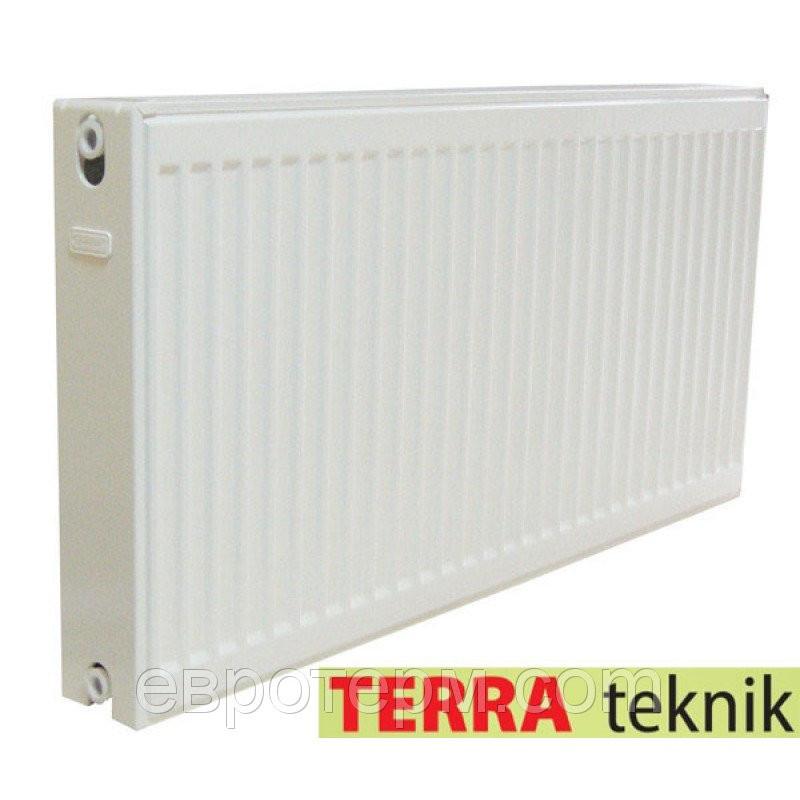 Сталевий радіатор TERRA Teknik 500/22х1100