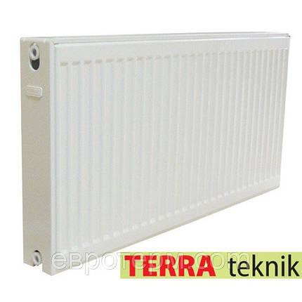 Сталевий радіатор TERRA Teknik 500/22х1100, фото 2